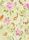 Kyoto Koi Lime Pink Wallpaper 98682 By Holden